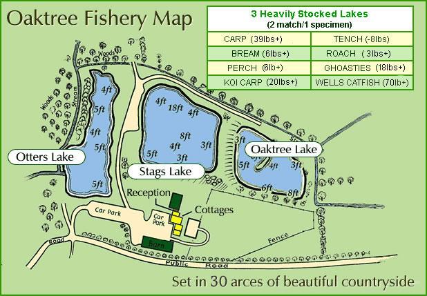 Fishing lake plan